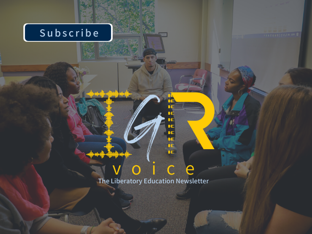 Graphic image for IGR Voice newsletter
