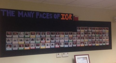 IGR community wall of photos
