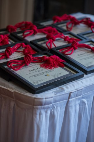 Gurin Awards certificates