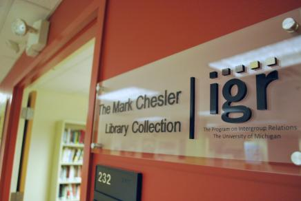 IGR office sign