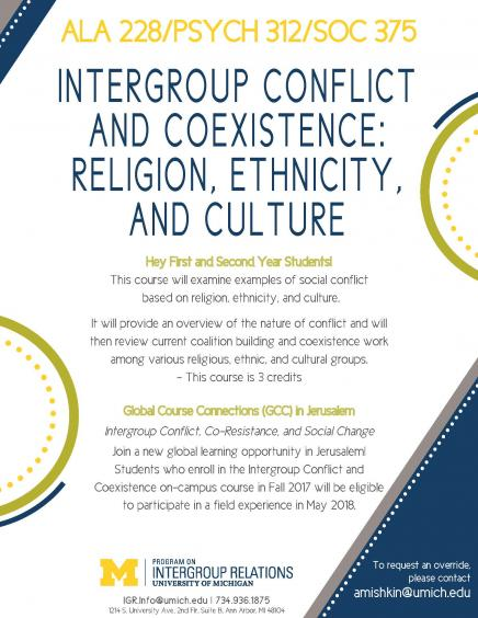 ALA 228 Conflict and coexistence flyer