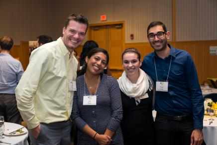 Photo - Left to right: Joe Person, Ixta Rosa, Kendra Hentschel, Nitesh Singh